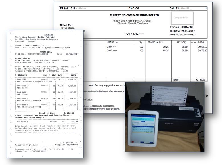 on spot bill receipt printing optirisk india blog